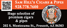Sam Hill's Cigars and Pipes