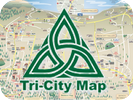 Tri-City Map - Prescott Map - Local Print, Web, Online Advertising